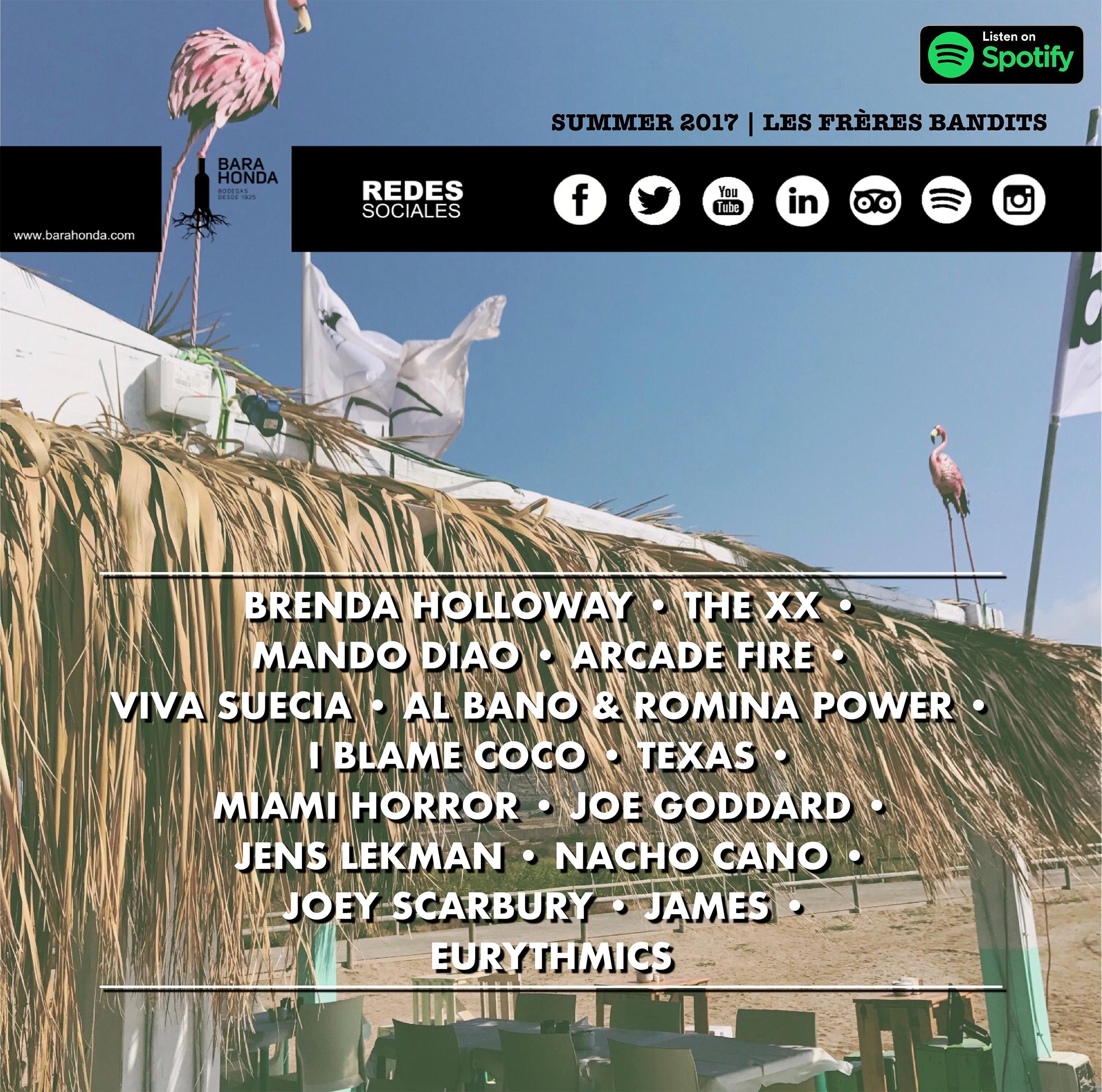 Playlist Spotify: Summer 2017 | Le frères bandits