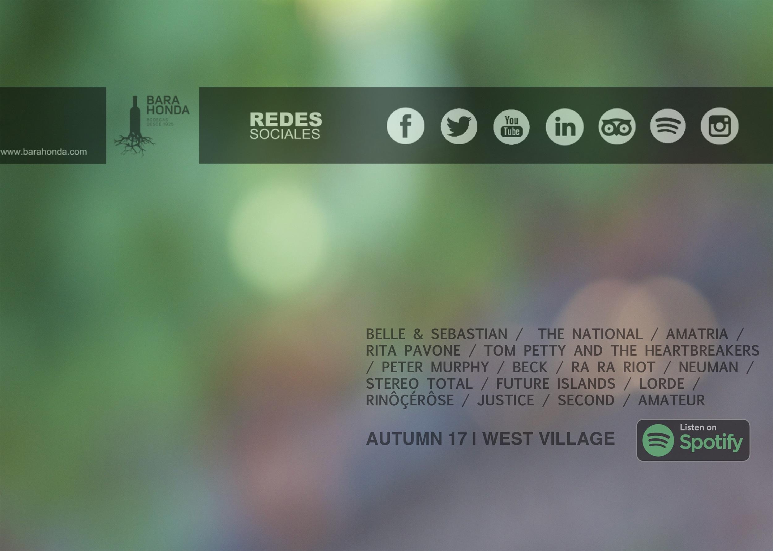 Playlist Spotify: Autumn 17 | West Village