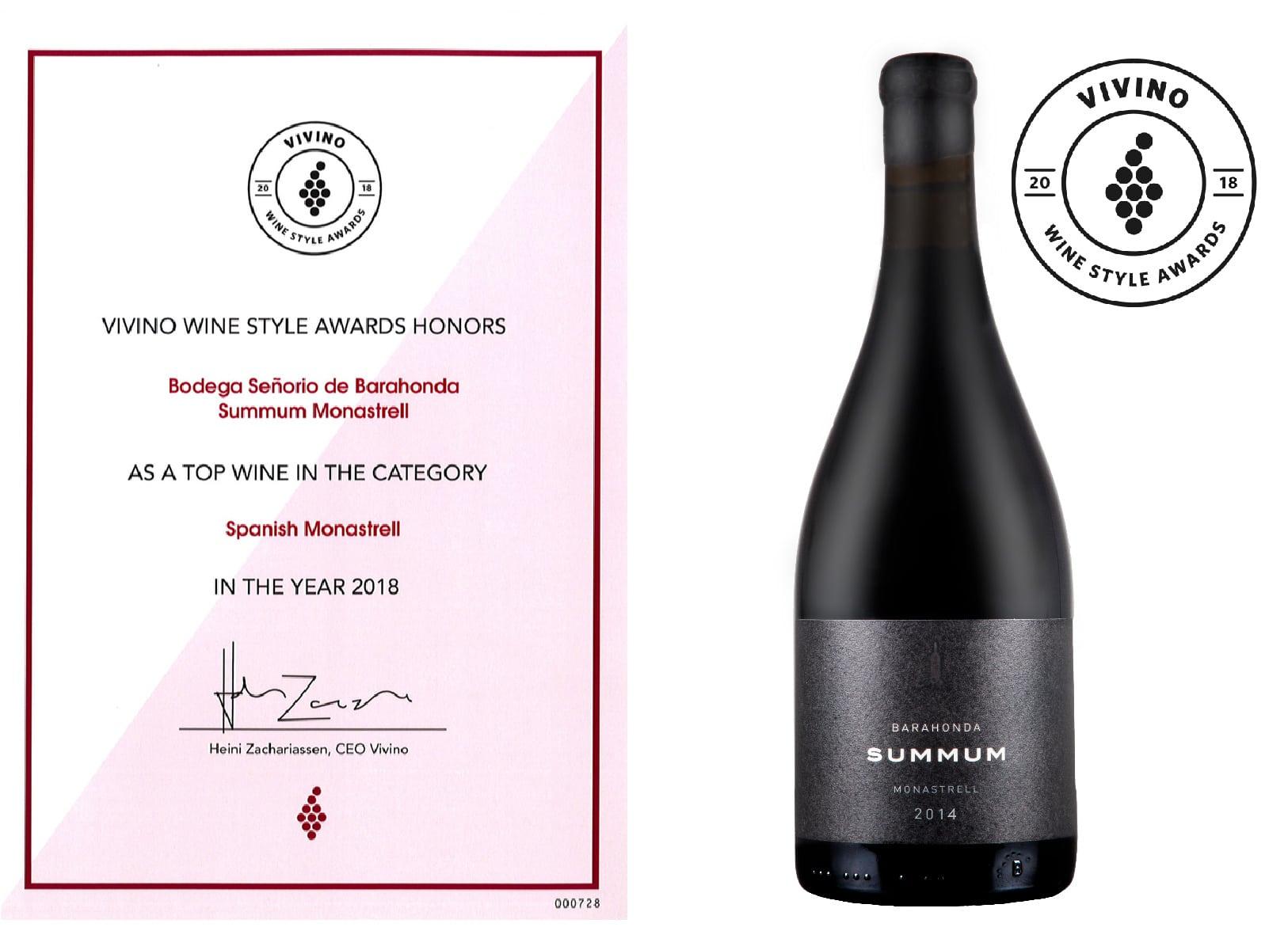 Barahonda Summum 2014 entra en el Top Ten de vinos Monastrell en la app Vivino