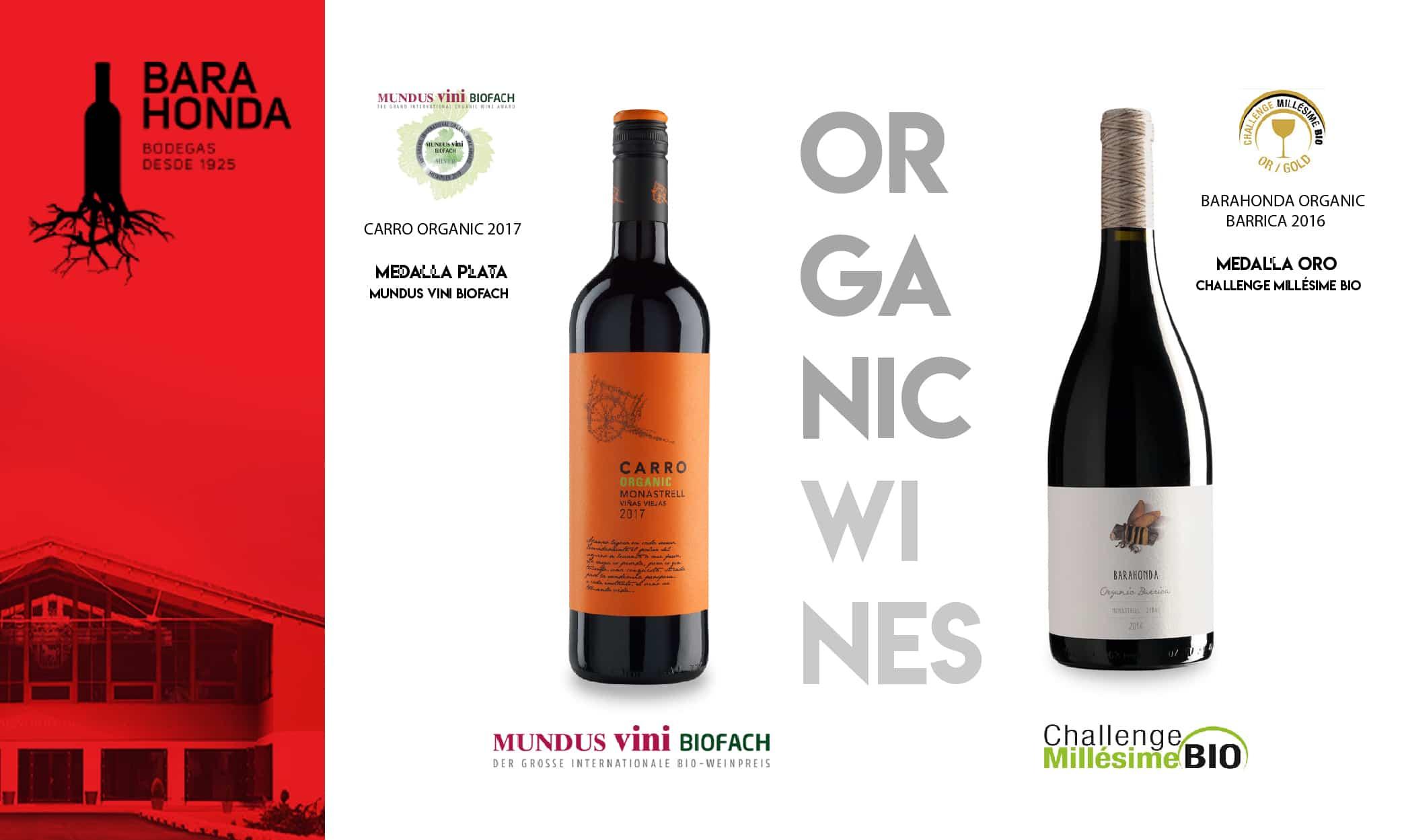 Dos de nuestros vinos ecológicos premiados en Alemania y Francia