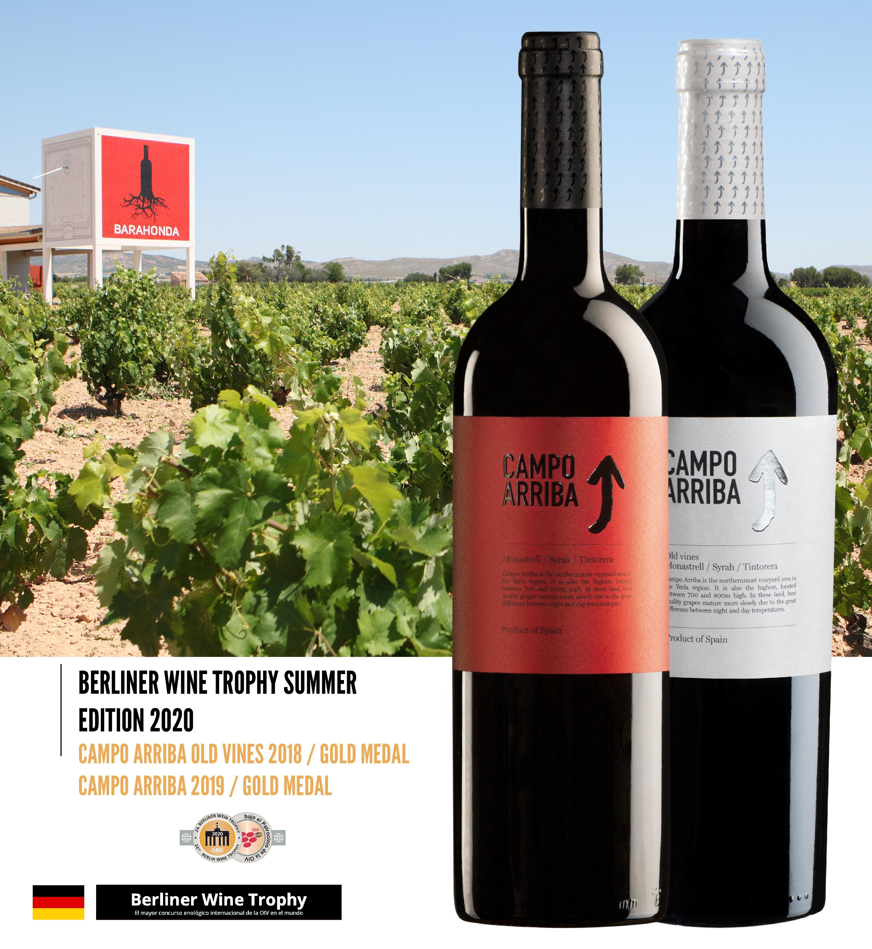 Tres vinos de Barahonda han sido premiados en Alemania